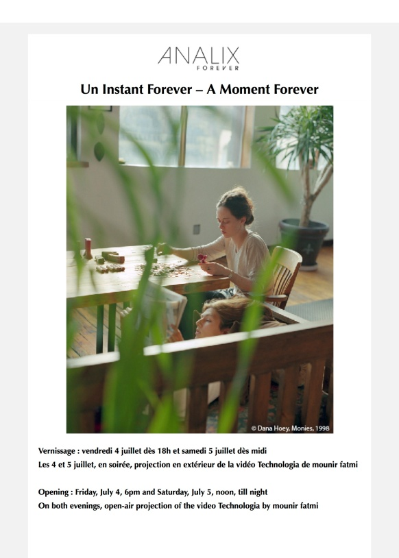 Un Instant Forever – A Moment Forever