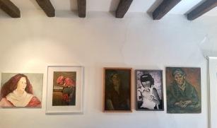 Vue d'installation de l'exposition PORTRAITS, à l'atelier AMI
