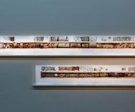 """Joana Hadjithomas and Khalil Joreige, Unconformities (2017) """"Marcel Duchamp Prize"""", Centre Pompidou, Paris 2017, with the authorisation of In Situ - fabienne leclerc © Thomas Lannes"""