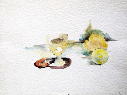 Sans titre, 1978, 30 x 40 cm, Aquarelle sur papier