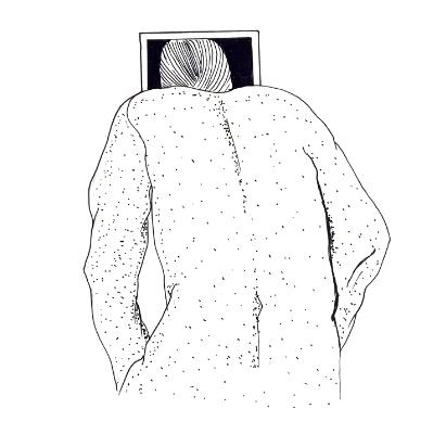 Jhafis Quintero, Sin título, 2019, 80 x 40 cm Crayon sur papier © Jhafis Quintero